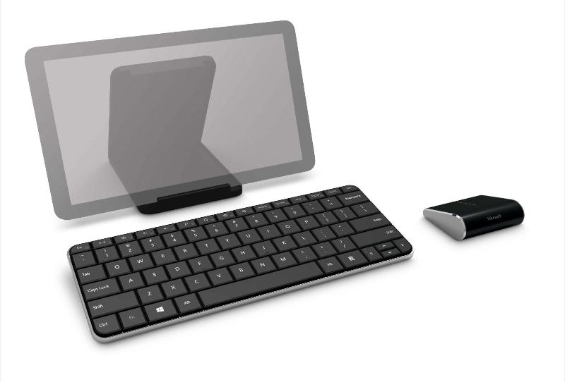Novos modelos de mouse e teclado Microsoft
