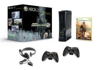 XBox 360 - 250GB - Modern Warfare 2
