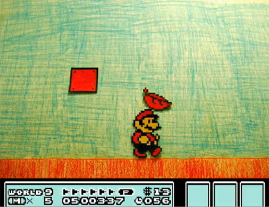 Mario 3 Stop Motion