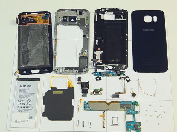 Samsung Galaxy S6 Desmontado