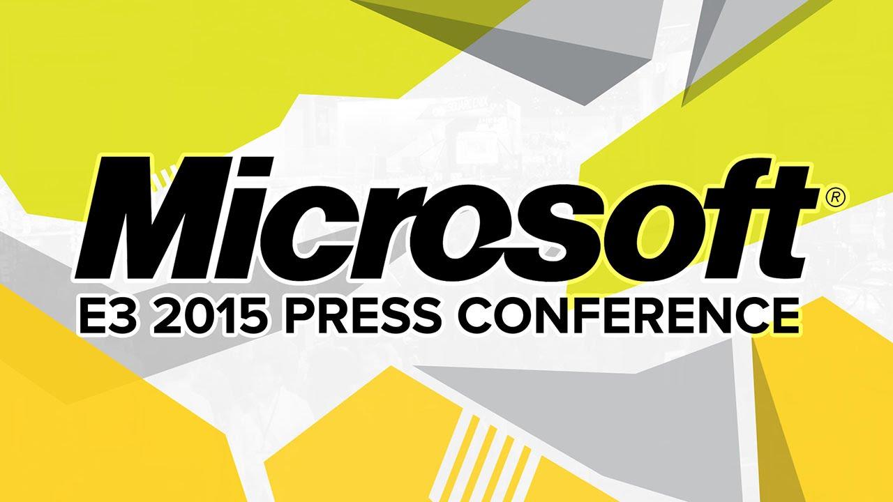 E3 2015 - Microsoft Press Conference