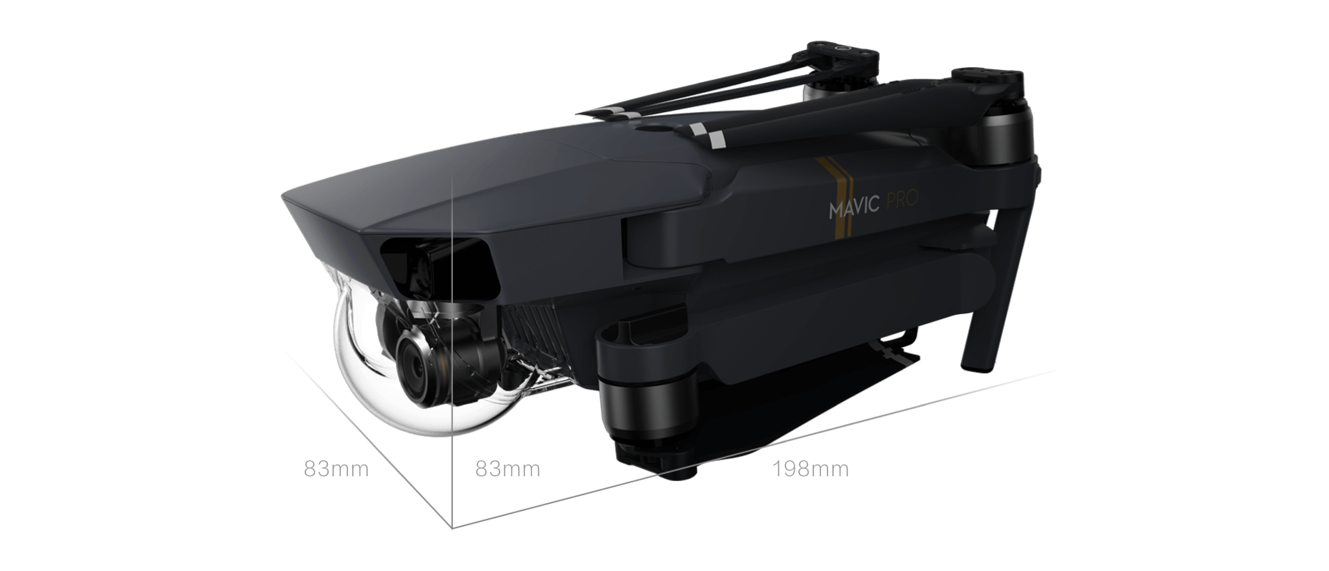DJI Mavic Sizes