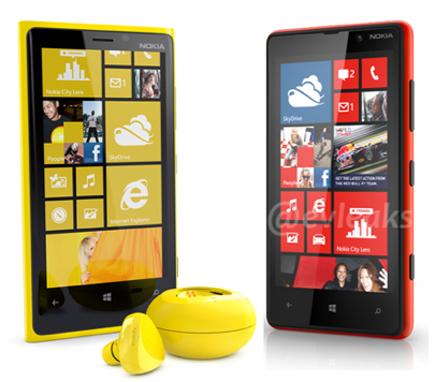 Novos Nokia Lumia com Windows Phone 8