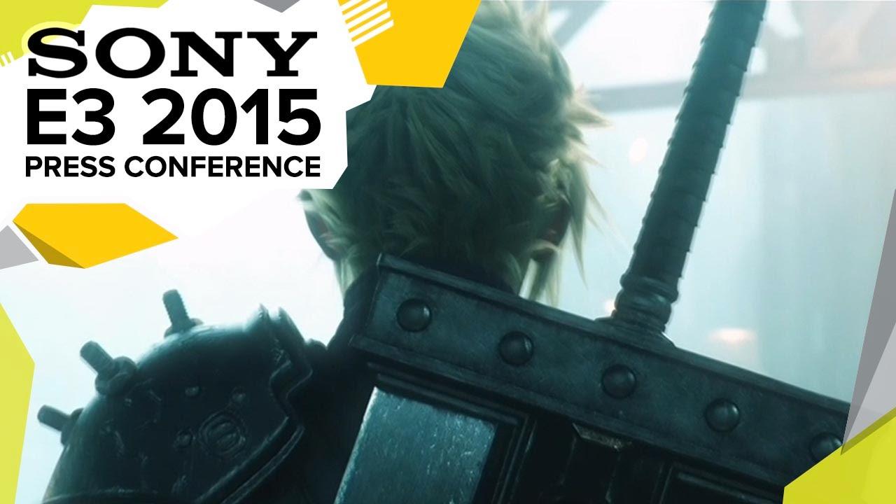 E3 2015 - Sony Press Conference